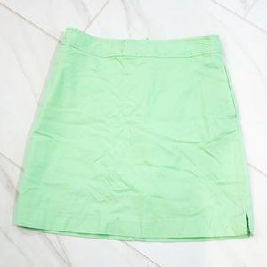 Vineyard Vines | Green Pocket Zip Back Skirt Skort